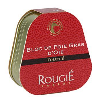 Foie Gras Gänseleberblock mit 3% Trüffel, Rougie 75g-867
