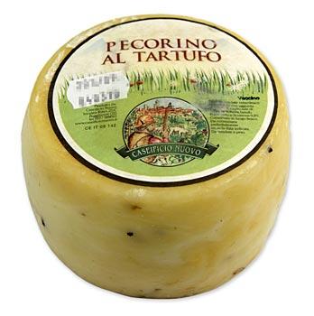 Pecorino Tartufo, Schafskäse mit Trüffel 0,65 kg-0