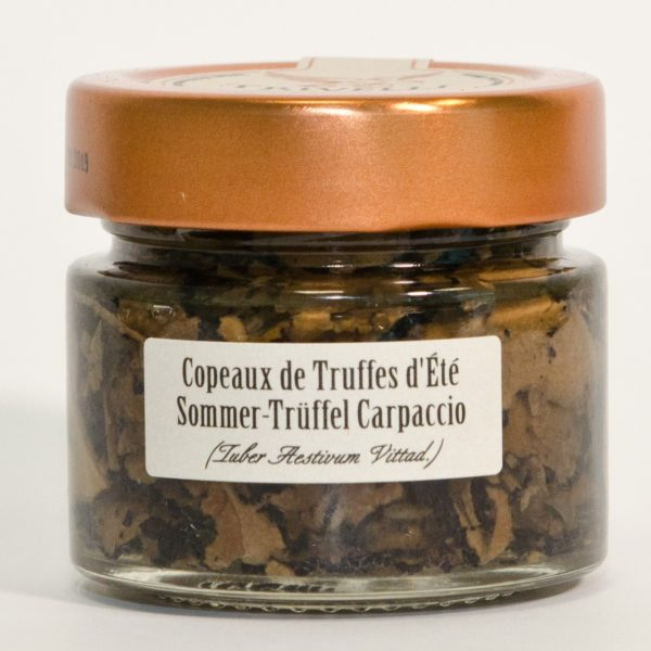 Sommertrüffel Carpaccio